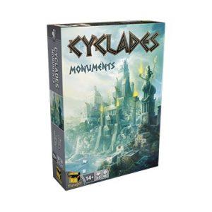 L'extension du jeu Cyclades Monuments