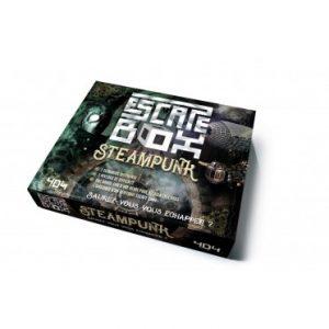 Les scénarios d'escape-box-steampunk