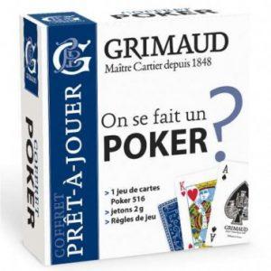 Le jeu de cartes Grimaud Poker