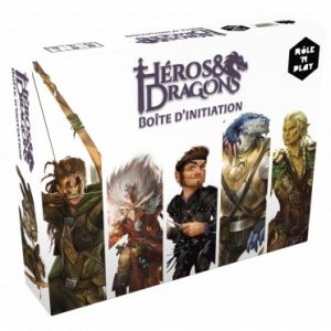 boite de base pour le jeu heros dragons