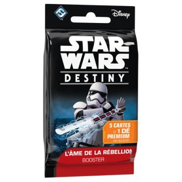 jeux de cartes Star wars destiny booster : L'ame de ma rebellion