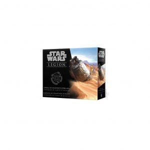Boite extension star wars legion capsule de sauvetage écrasée