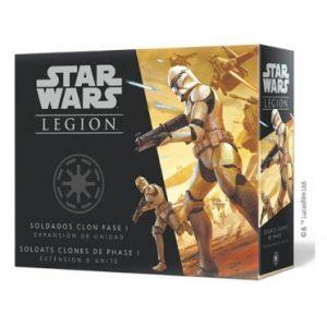 Star Wars : Légion - Soldats Clones de Phase 1
