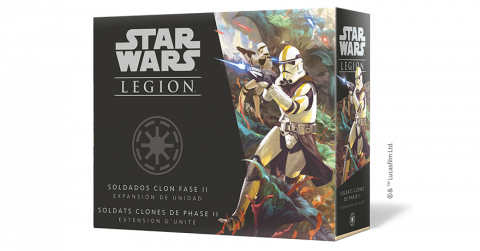Star Wars : Légion - Soldats Clone de Phase II
