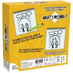 Le jeu d'humour what is missing
