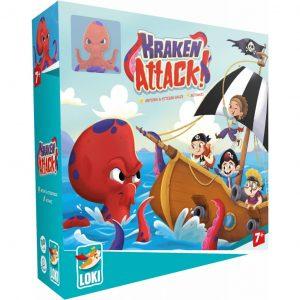 Le jeu de coopération Kraken attack