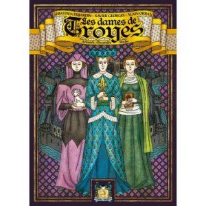 Les cartes les dames de troyes