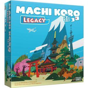Boite de jeu machi koro legacy