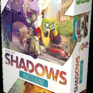 boite du jeu shadow : amsterdam