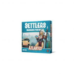 Le jeu de cartes settlers atlantes