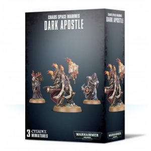 Figurines chaos space marines pour w40k
