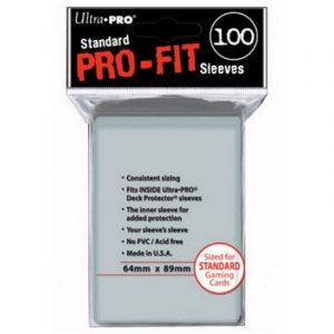 Sleeves – Ultra Pro – Standard pro-fit