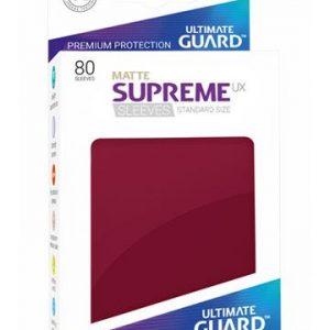 Sleeves – Ultimate Guard – Standard Supreme UX Matte Bordeaux