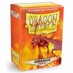 Sleeves – Dragon Shield Standard – Matte Orange