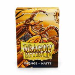 Sleeves – Dragon Shield Japanese – Matte Orange