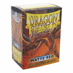 Sleeves – Dragon Shield Standard – Matte Rouge