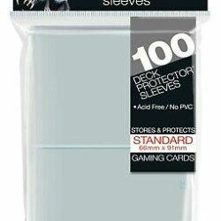 Sleeves – Ultra Pro – Standard Transparent (100)