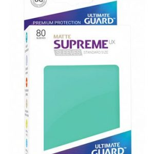 Sleeves – Ultimate Guard – Standard Supreme UX Matte turquoise