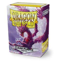 Sleeves – Dragon Shield Standard - Matte Violet