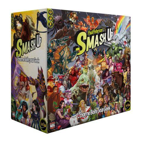 Smash Up – L'énorme boite de geek