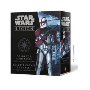 Star Wars Legion – Soldats clones de phase I upgrade