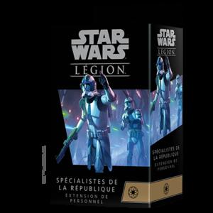 Star Wars Legion – spécialistes de la république