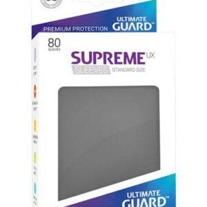 Sleeves – Ultimate Guard – Standard Supreme UX Gris foncé