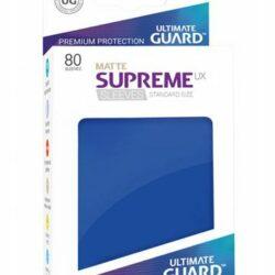 Sleeves – Ultimate Guard – Standard Supreme UX Matte Bleu