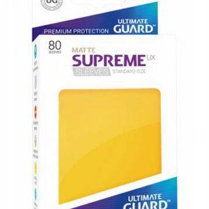Sleeves – Ultimate Guard – Standard Supreme UX Matte Jaune