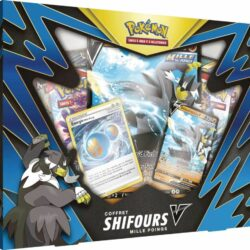 Coffret Pokémon (4 boosters EB 05) – Shifours V (Mille Poings/Poing final)