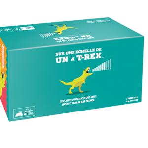Sur une échelle de un à T-rex