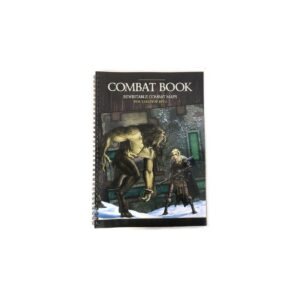 Combat Book - Cartes effaçables pour jeu de rôle.