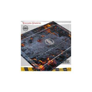Pwork Wargames – Tapis de jeu PVC Volkano Stadium