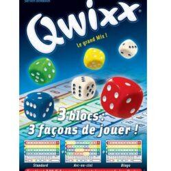 Qwixx Recharge bloc de score