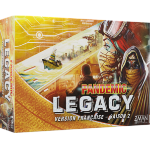 Pandemic legacy S02 Jaune