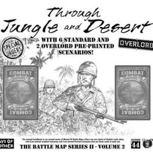Memoire 44 – Batlle map 6 – Jungle and desert