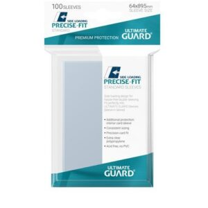 Sleeves – Ultimate Guard – Standard Precise fit (64×89) (Side Loading)