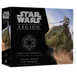 Star Wars Legion – Soldat monté sur Dewback