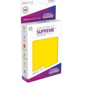 Sleeves – Ultimate Guard – Small Supreme UX Matte Jaune